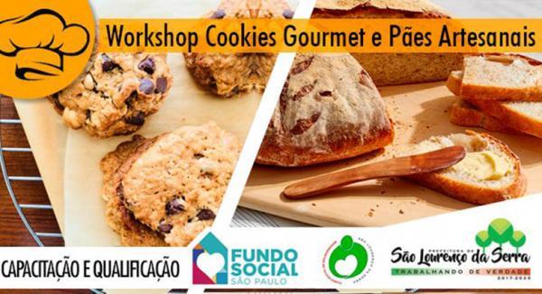 São Lourenço da Serra : Aberta inscrições para o Workshop de Cookies Gourmet e Pães Artesanais