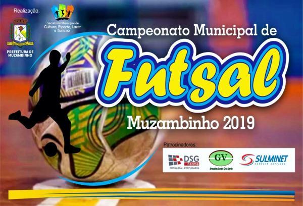 Muzambinho MG : Campeonato Municipal de Futsal acontece de 22 de julho a 2 de agosto