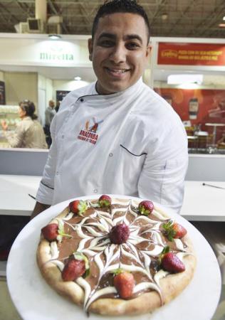 No Dia da Pizza, feira em São Paulo reúne 7 mil profissionais do setor