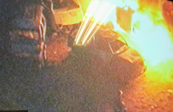 Incêndio atinge pátio da Prefeitura de Osasco
