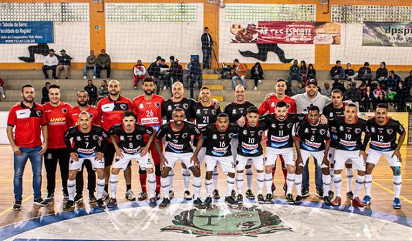 Taboão da Serra SP : Futsal Taboão venceu São Caetano na estreia da Liga Paulista