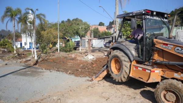 Suzano SP : Obras na região da Igreja do Baruel devem ser concluídas até o final de setembro