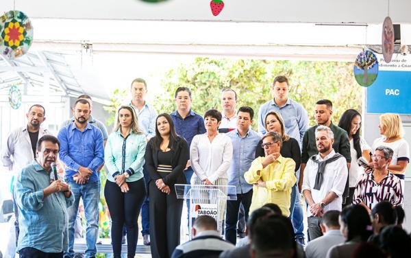 Taboão da Serra SP : Prefeitura entrega ampliação do PAC Núcleo 22 de Setembro