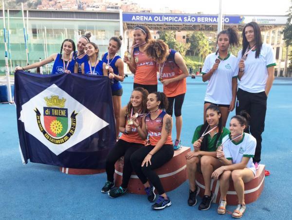 Atletismo de Osasco é vice-campeão nos Jogos Regionais de Santo André