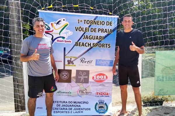 Mogi Guaçu conquista o quinto lugar no torneio Jaguari Beach de vôlei de praia