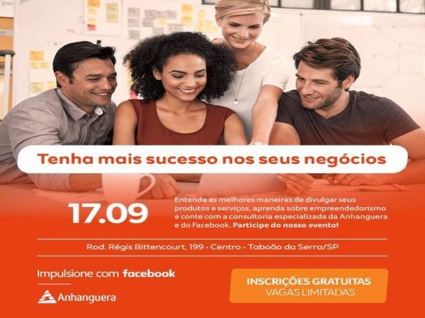 Anhanguera Taboão da Serra terá workshop grátis do Facebook para microempreendedores