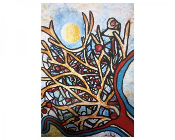 Embu das Artes SP : Desmatamento e meio ambiente são temas da Exposição da artista de Elza Kalybatas