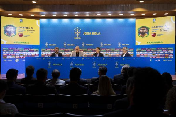 Seleção Brasileira convocada para amistosos contra Senegal e Nigéria