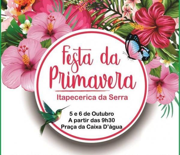 Itapecerica da Serra realiza Festa da Primavera neste sábado e domingo, 6