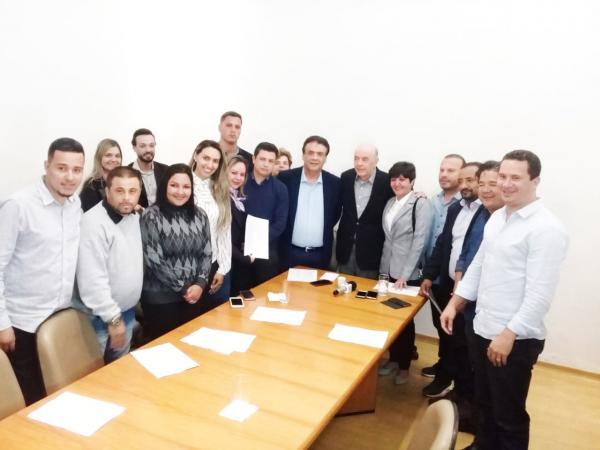 Ex-governador José Serra visita prefeito de Taboão da Serra