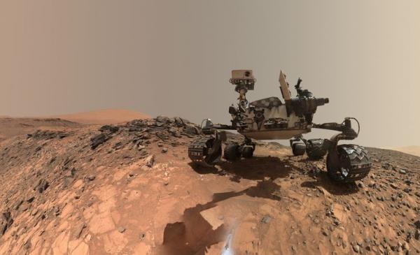 Marte tem matéria orgânica, segundo a Nasa