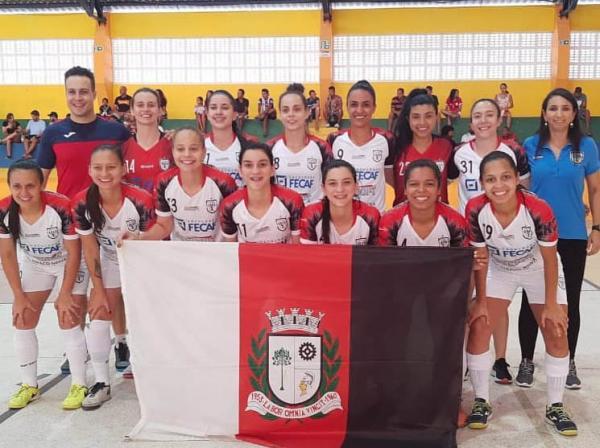 Taboão da Serra : Equipe feminina de Futsal goleia o Barcelona (SE) no jogo de ida pela semifinal da Copa do Brasil
