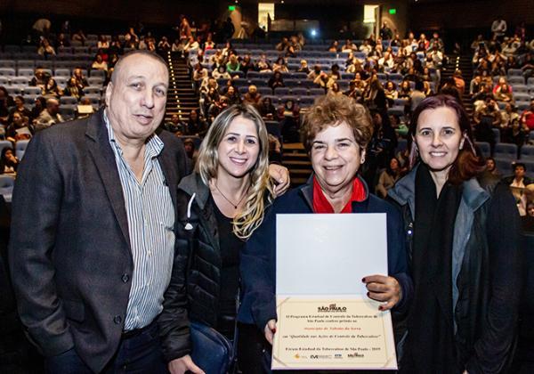 Taboão da Serra conquista prêmio de Combate a Tuberculose