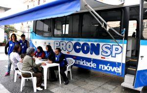 Santos SP : Procon-SP: Unidade móvel atende moradores de Santos na próxima sexta, 25
