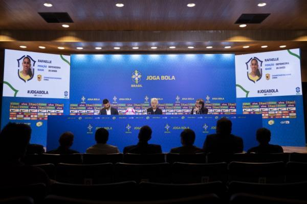 Veja a convocação da seleção brasileira feminina para torneio na China