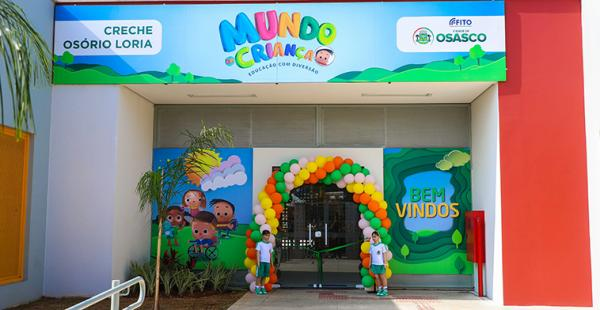 Prefeitura de Osasco inaugura Creche no Jardim Santa Maria
