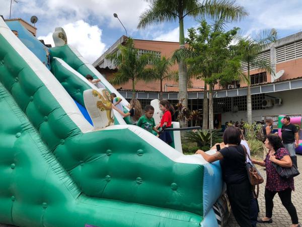 Servidores de Embu das Artes tiveram o mês de outubro repleto de atividades e festa