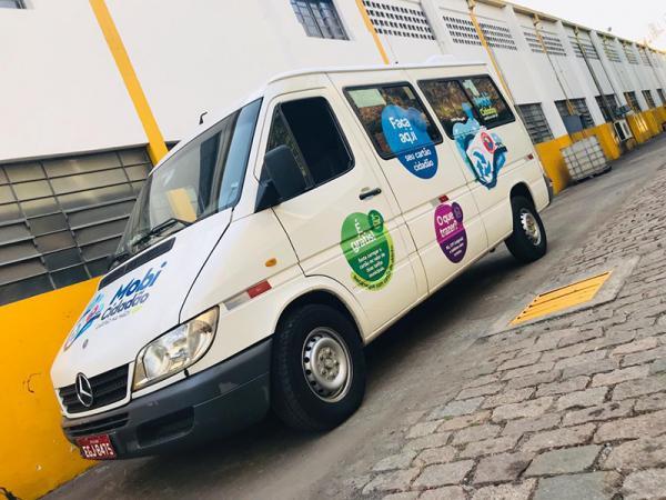 Van do projeto Mobi Cidadão atenderá no Jardim Cocaia - Foto divulgação