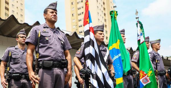 Osasco SP : 14º Batalhão de Polícia Militar de Osasco celebra 127 anos