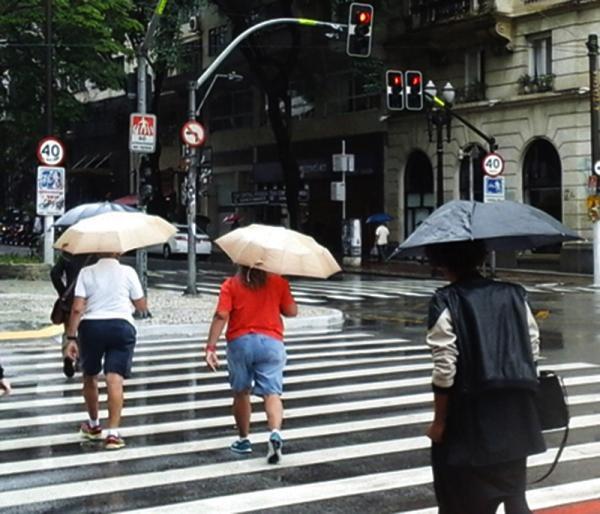 São Paulo : Defesa Civil do Estado emite alerta de chuvas e ventos fortes