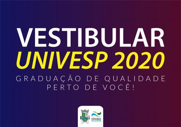 Itapecerica da Serra : Vestibular da Univesp tem inscrições até o dia 14 de novembro
