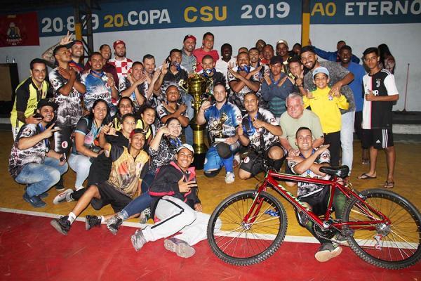 Taboão da Serra : Força Real é campeão da 20ª Copa CSU
