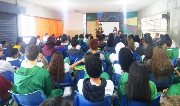 Embu das Artes : Alunos da EM Paulo Freire recebem Ação Educativa de Trânsito - Jornal SP Repórter News