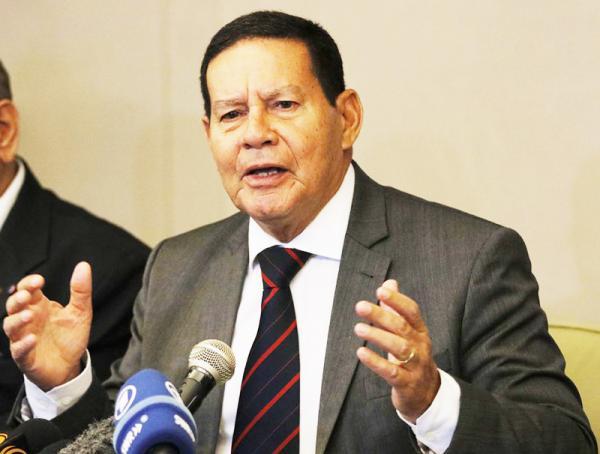 Mourão disse que o Brasil será mais próspera democracia liberal do hemisfério - Foto:Tomaz Silva