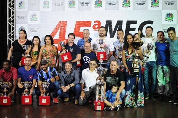 Mogi Guaçu SP : Lagoa Esporte Clube é o vencedor da 45ª edição da Maratona Esportiva Guaçuana