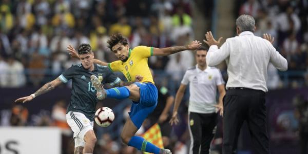 Brasil perde para Argentina por 1 a 0