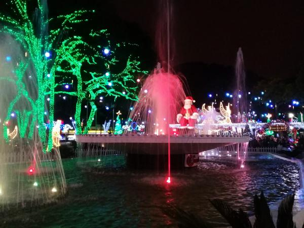 Taboão da Serra terá Natal iluminado com milhares de luzes de led e Papai Noel gigante - Foto arquivo 2018: Elizeu Teixeira Filho