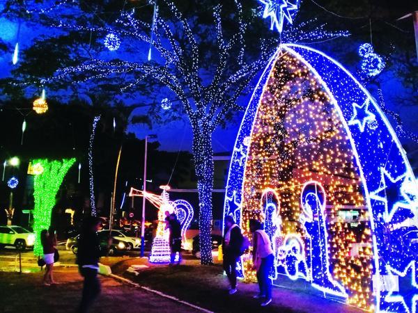 Taboão da Serra : Natal iluminado será inaugurado nesta sexta-feira, 22