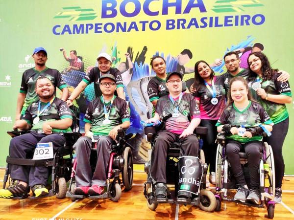 Atletas conquistam medalhas no Campeonato Brasileiro de Bocha Paralímpica - Foto: divulgação