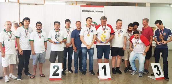 Equipes de Xadrez conquistam vice-campeonato nos 83º Jogos Abertos - Foto arquivo Serel