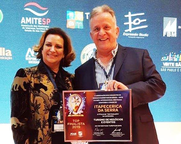 Itapecerica da Serra é destaque em premiação de Turismo