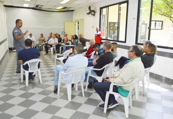 Brigadistas de Incêndio da prefeitura participam de curso de prevenção