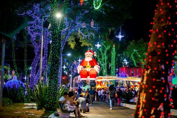 Natal Iluminado de Taboão da Serra vai até 6 de janeiro de 2020