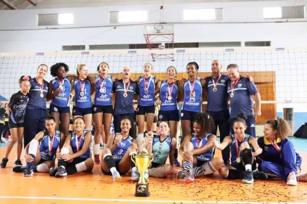Barueri Esporte Forte conquista Campeonato Paulista de Vôlei Feminino Sub-14