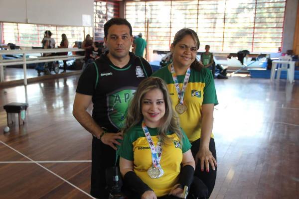 Atleta de Taboão estará na seleção brasileira de bocha paralímpica para o Mundial