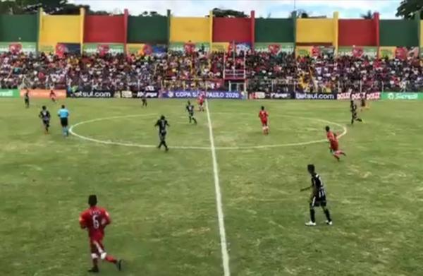 Clube Atlético Taboão da Serra enfrenta o Vila Nova pela Copa São Paulo