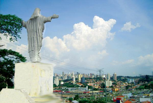 Sabia que Taboão da Serra tem um Cristo Redentor?