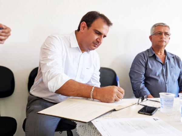 Prefeito Julbert Ferre toma posse como Presidente da AMBASP - Foto: Prefeitura de Machado