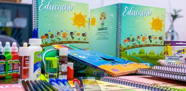 Osasco : Prefeitura entrega material escolar na primeira semana de aula