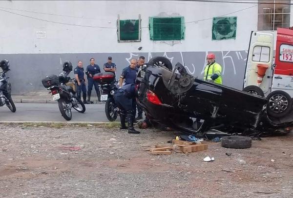Pedestre é atropelada em Taboão da Serra