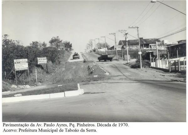 Veja fotos antigas que mostram como Taboão da Serra mudou