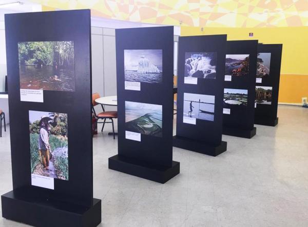 """Exposição """"Água, Conservação e Cultura"""" é aberta na Biblioteca Eny Cordeiro - Foto: PMB"""