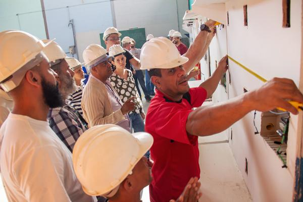 Escola de Construção Civil de Taboão da Serra está com inscrições abertas