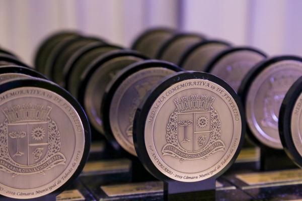 Câmara de Taboão da Serra homenageará 26 moradores com Medalha 19 de fevereiro