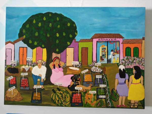 Embu das Artes :Programa Arte Itinerante recebe a artista Renata Matusceviko