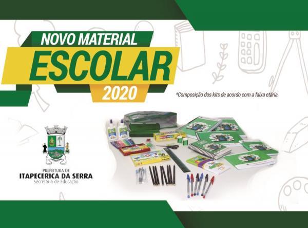Prefeitura de Itapecerica da Serra entregará kits escolares a 18 mil alunos
